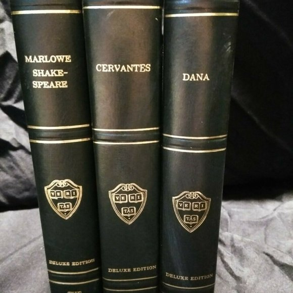 Set of 3 THE HARVARD CLASSICS Deluxe Edition